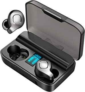 $87 » JUJ F8 Wireless Bluetooth Earbuds, Active Noise Cancelling Earphones with True Wireless,ANC in-Ear Earphones with Digital ...