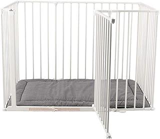 [ ベビーダン ] Baby Dan セーフティーゲート マット付き スクエアゲート 右開き 79114-10400-1300-10-120 ホワイト Safety Gates & Extensions White ベビーサークル ペットケージ...