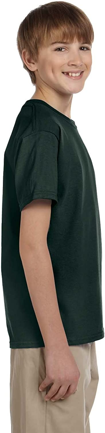 Cotton T-Shirt (G200B) Forest Green, L (Pack of 12)