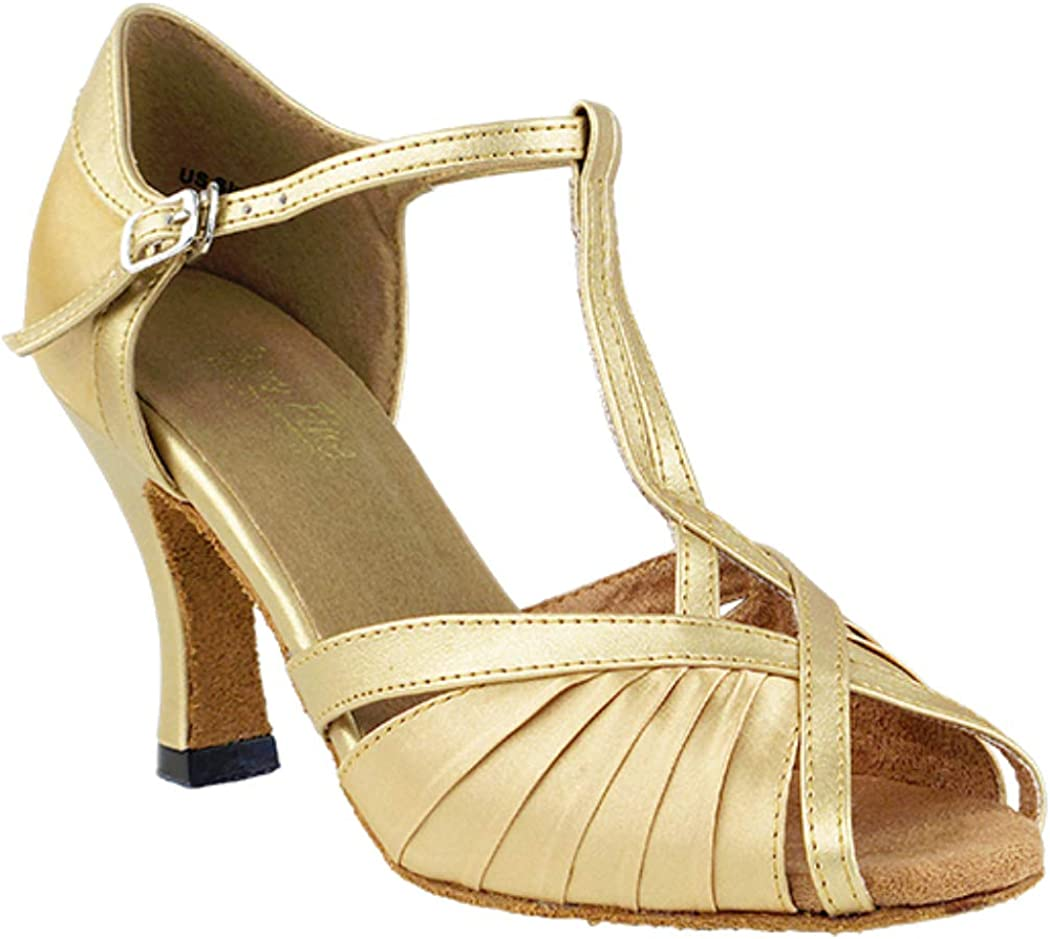Very Fine Women's Salsa Ballroom Tango Dance Shoes 2707 with 3