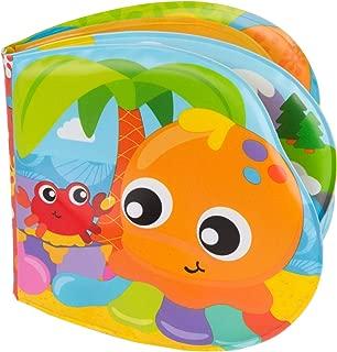 Playgro Libro de Baño, Con Sonidos, A partir de los 6 meses, Sin BPA, Splashing Fun Friends Bath Book, Multicolor, 40180