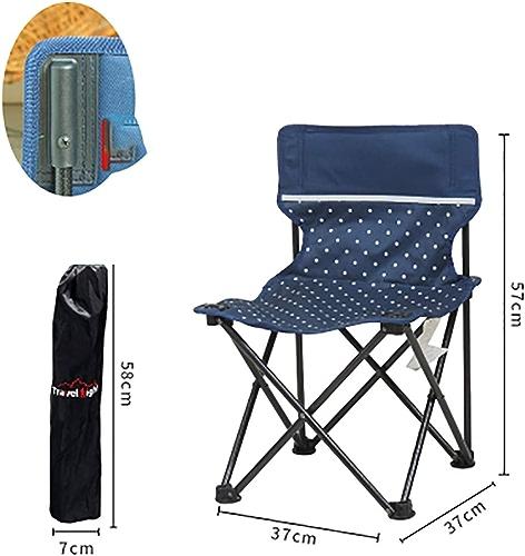 KUHU Chaise Pliante Tabouret Pliant Petit Cheval Pliant Chaise de Camping portable