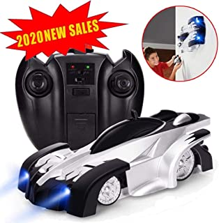 J-Deal Remote Control Car RC Car Mini Climbing Vehicle with Radio Control, Dual Mode 360° Rotating Stunt Car, silver and black