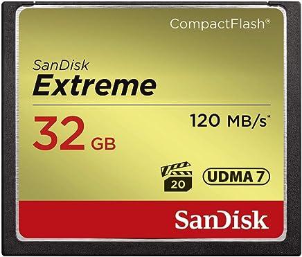 SanDisk Extreme SDCFXSB-032G-G46 32GB CompactFlash Memory Card