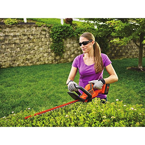 BLACK+DECKER 40V MAX Cordless Hedge Trimmer, 22-Inch (LHT2240CFF)