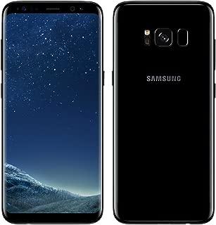 Samsung Galaxy S8 Plus G9550 64GB Dual SIM Midnight Black Unlocked Smartphone (Renewed)