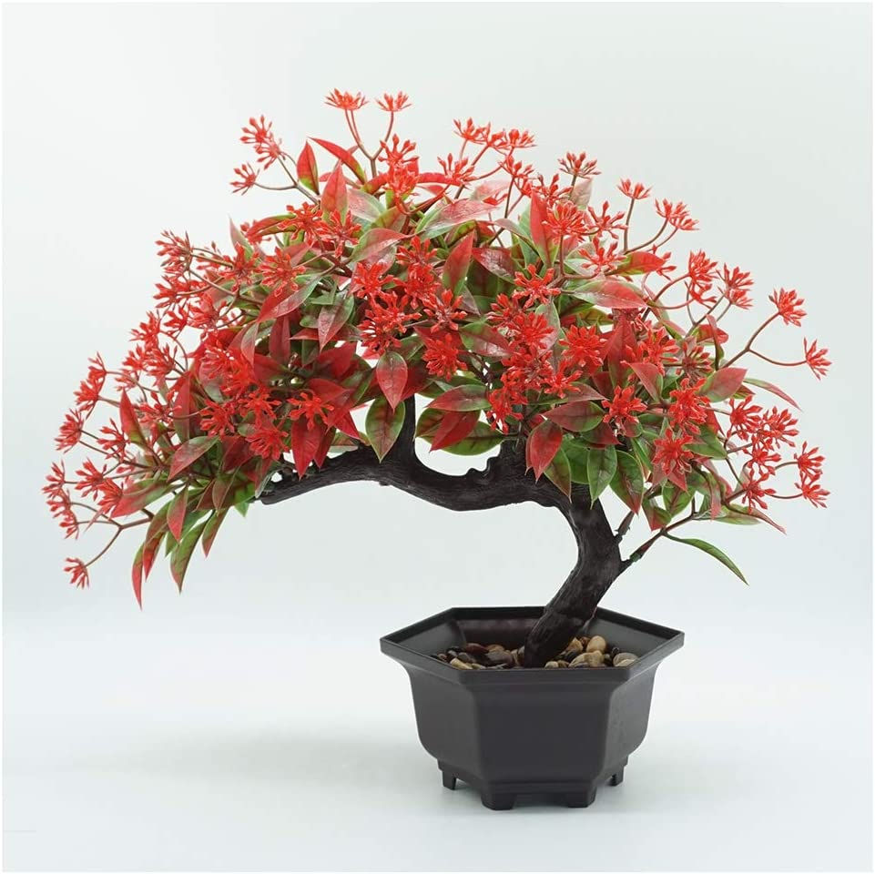 YUAOO Artificial Tree Plants mart Leaf Gr Max 67% OFF Imitation
