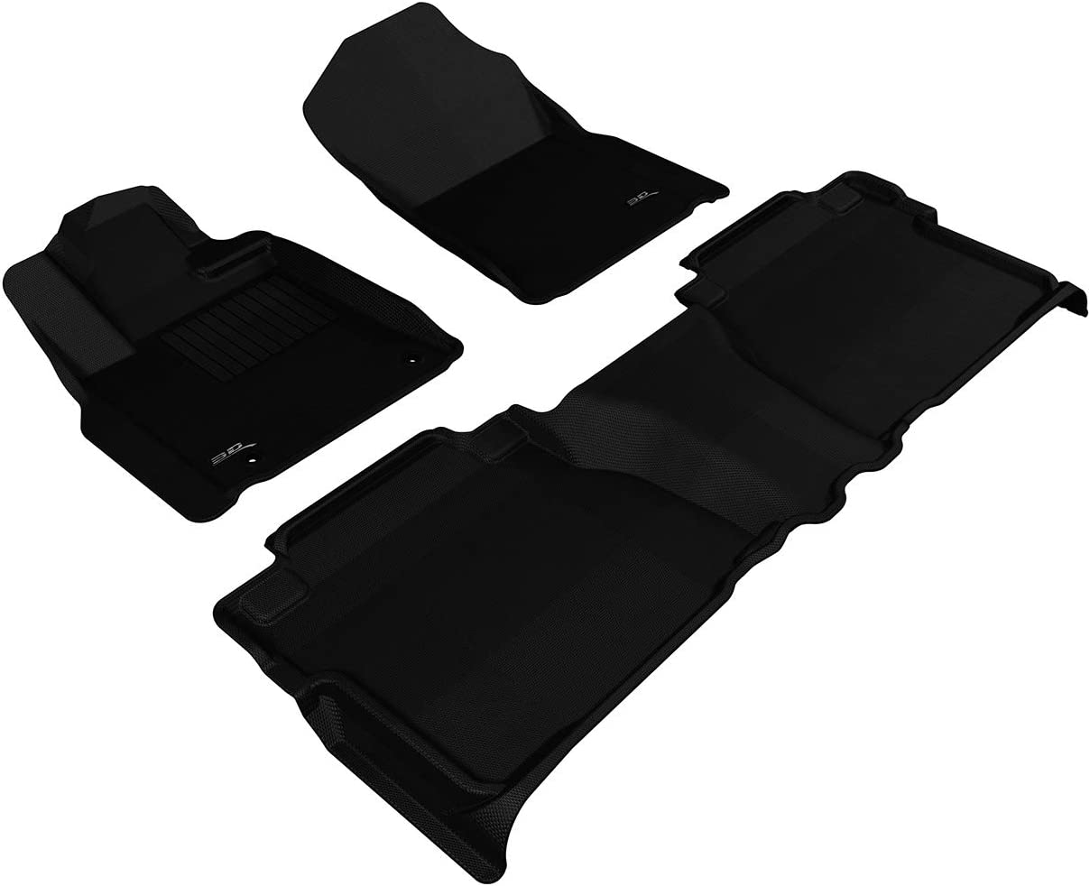 Max 66% OFF Complete Free Shipping 3D MAXpider L1TY14701509 All-Weather Floor Mats Toyota for Tundr