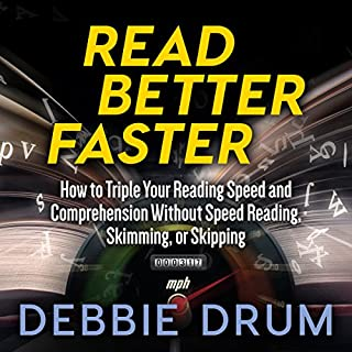 Read Better Faster audiobook cover art