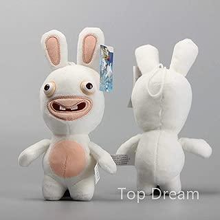 GNRC Cartoon Rayman Raving Rabbids Soft Plush Toy Stuffed Animal Doll 7'' Teddy Gift