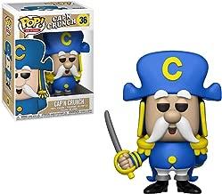 Funko Cap'n Crunch: Quaker Oats x POP! Ad Icons Vinyl Figure & 1 POP! Compatible PET Plastic Graphical Protector Bundle [#036 / 36479 - B]