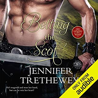 Betting the Scot audiobook cover art