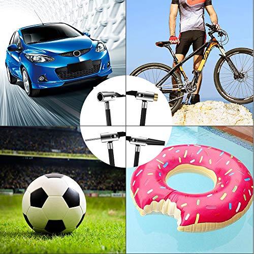 AOKBON Compressore Portatile Compressore Aria Auto 150PSI Mini Compressore con Schermo LCD e Torcia a LED Elettrica Ricaricabile per Moto Auto e Bicicletta