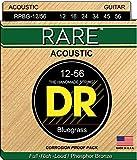 DR Strings Rare - Phosphor Bronze AcousticHex Core Bluegrass 12/56