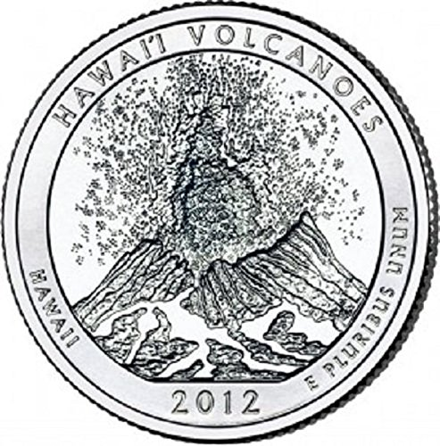 2012 D Hawaii Volcanoes National Park – D 40 Coin Bankroll Uncirculated