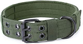 Get-in 4.5 cm Width Durable Nylon Dog Collar Outdoor Tactical Training Collar Pet Military Collar Dog Police Pet Products