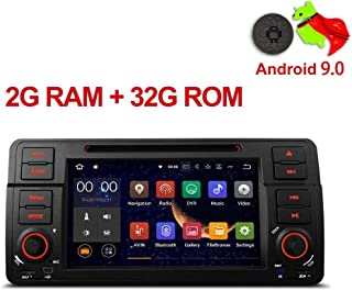 MUCWAUTO for BMW E46/320/325 Auto GPS Navigation7 Inch Android 9.0 Car Media Player with WiFi Radio DVD Player Rear Camera