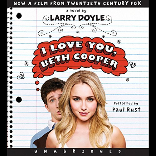 I Love You, Beth Cooper cover art