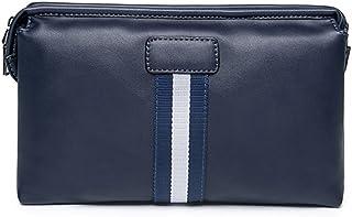 c871958e9c swall owuk Homme Vintage Sac à main PU cuir Sacs de voyage Messenger Bag  Envelope Clutch