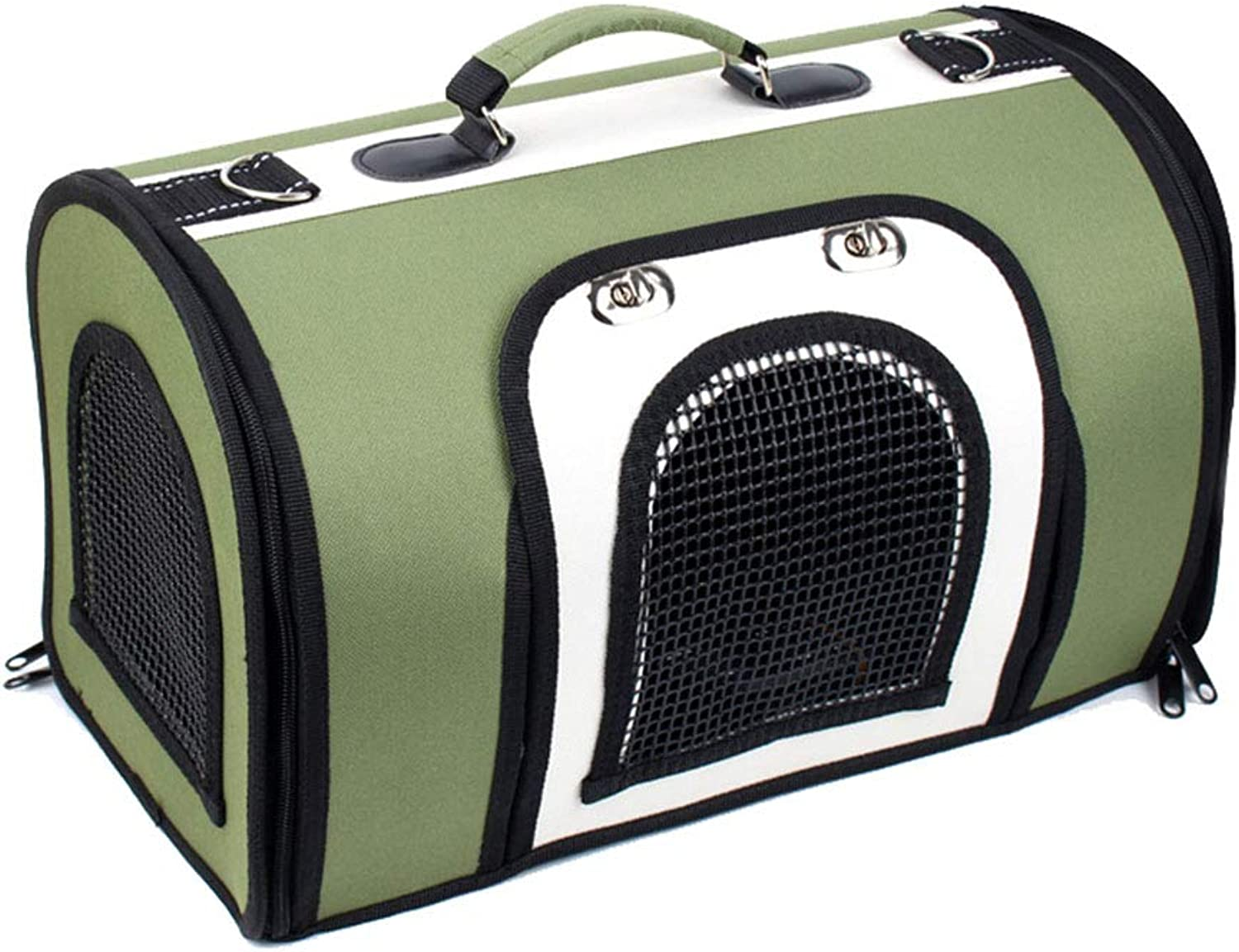 NIANXINAN Pet Carrier One Shoulder Portable Travel Bag For Puppy Dogs Cats, Breathable