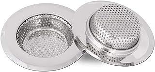 Qinglele 2 Unidades 11,3cm Filtro De Desagüe Del Fregadero De La Cocina, Filtro De Acero Inoxidable Para Fregadero Lavabo ...