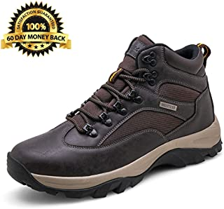 Men's Hiking Boots Waterproof Rustproof Casual Style Midweight Breathable Backpacking Shoes Outdoor Series