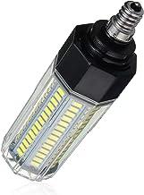 SGJFZD E12 15W 5730 SMD LED Corn Light Lamp Bulb Non-Dimmable AC110-265V (Color : Warm White)