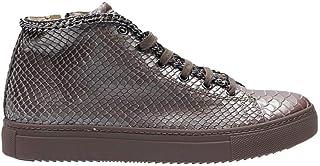 [STOKTON] レディース 515BROWN ブラウン 革 運動靴