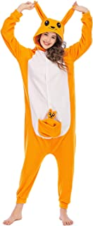 Silver_river Halloween Unisex Wolf Cosplay Kostüme Pyjama T