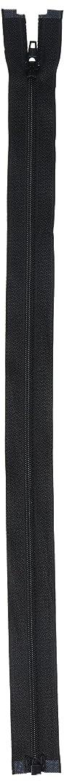 COATS & CLARK F4916-BLK Lightweight Separating Zipper, 16