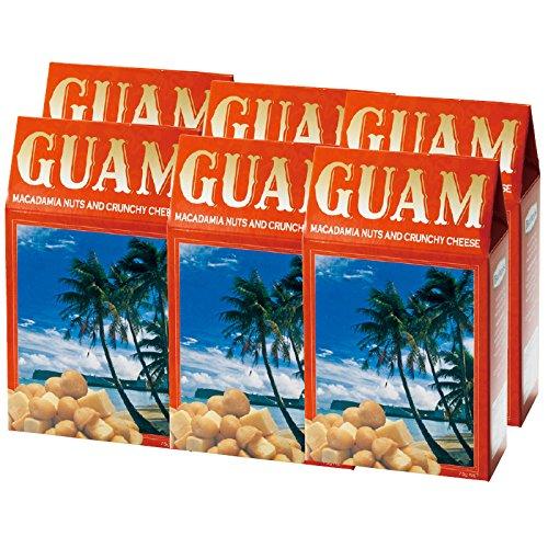 グアム 土産 グアム チーズ&マカデミアナッツ 6箱セット (海外旅行 グアム お土産)