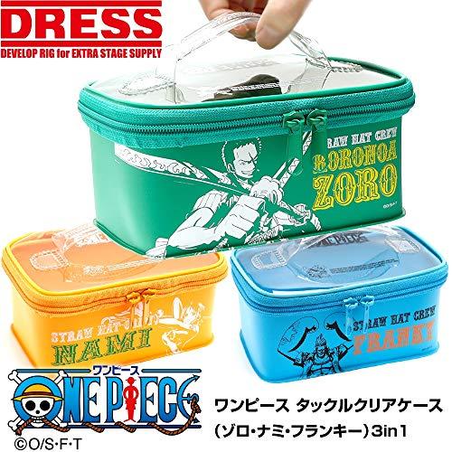 (DRESS)ワンピース×DRESS タックルボックスマルチ Sセット ゾロ・ナミ・フランキー