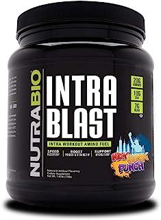 NutraBio Intra Blast - 30 Servings (New York Punch)