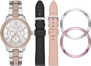 Michael Kors Runway Women's White Dial Stainless Steel Analog Watch - MK6727