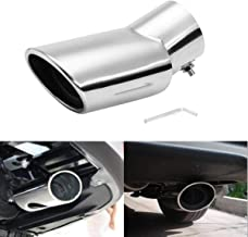 Carvicto - Car Rear Exhaust Muffler Pipe Stainless End Tip Pipe For SUBARU OUTBACK 2015
