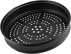 BESTonZON Steamer Rack Round Steaming Basket Stone Food Cooking Steamer Rack for Kitchen Cooking Table Countertop Kitchen ...
