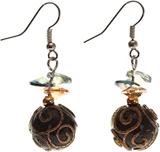 Lova Jewelry Flawless Dark Onyx Pearl Earrings That Blow Your Mind.