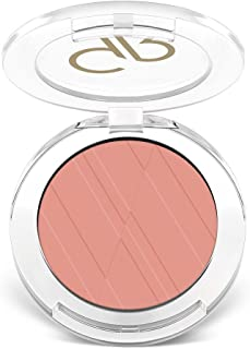 Powder Blush By Golden Rose, Color Hot Pink No3, Black