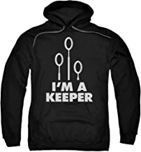 Hoodie: Harry Potter- I'm A Keeper Pullover Hoodie Size XL