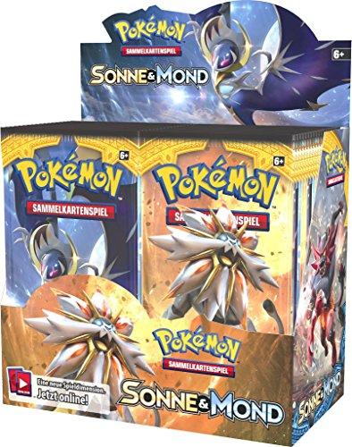 Pokemon Sonne & Mond Serie 1 - Booster Pack - Deutsch (36 Booster)