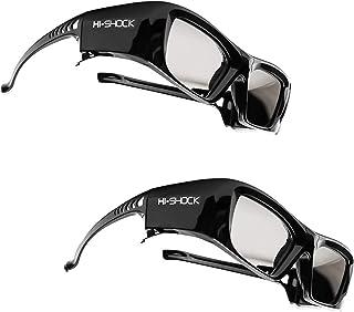 2 x okulary Hi-SHOCK BT/RF Pro Black Diamond   Okulary 3D do