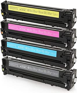 Kit Colorido Toner Compatível para impressora HP M276NW M251NW M276N M251 M276 CP1215 CP-1525NW CM-1415 CP-1525 CM-1312