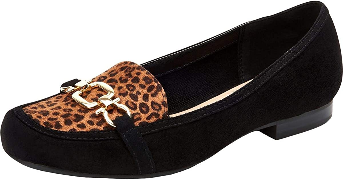 Charter Club Womens Alettee Faux Leather Slip On Loafers