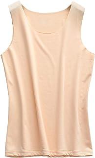 Elonglin Women's Thermal Underwear Sleeveless Vest T-Shirt Tank Top