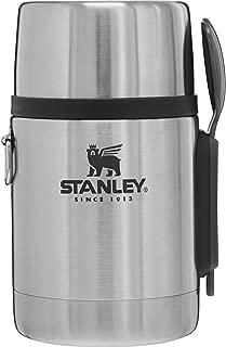 STANLEY(スタンレー) 新ロゴ 真空フードジャー 0.53L シルバーグレー 保温 保冷 ランチ スープ アウトドア 保証 01287-046 (日本正規品)