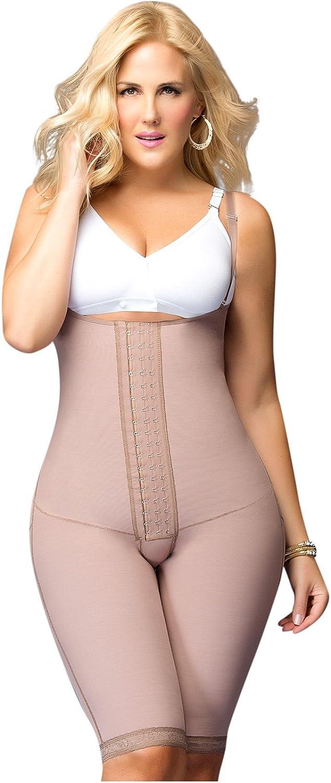 Fajas DPrada 11105 Womens Post Surgery Compression Garment Brown