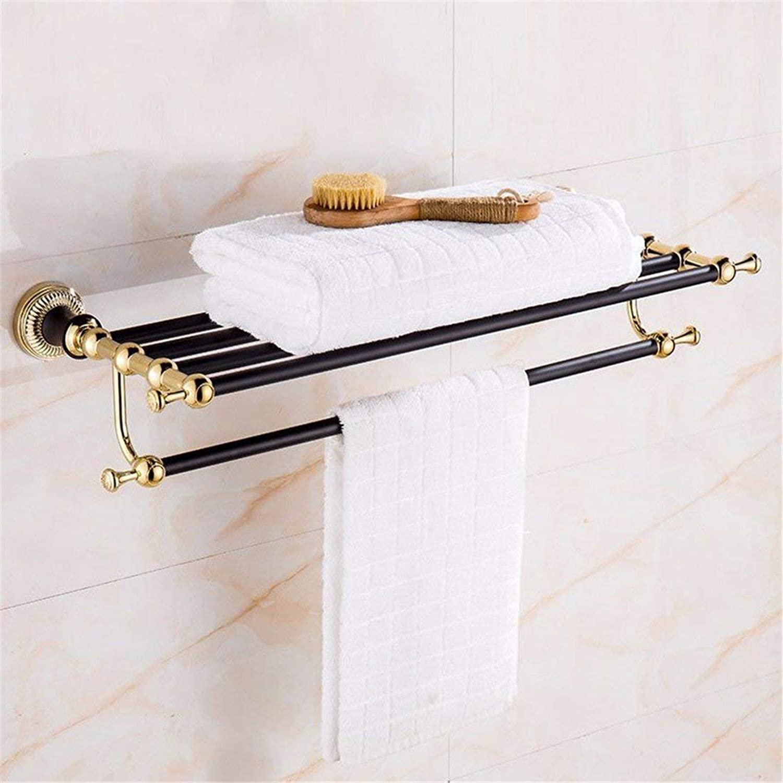 gold Pendant European Costume American Room Black Patina Rack, Hair-Towels Dry-Towels,