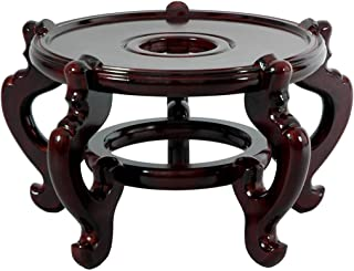 M.V. Trading PTS6 Rosewood Fishbowl Pot Stand, 6-Inch Inner Diameter
