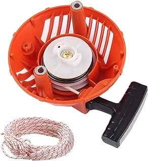 Venseri 576368301 Recoil Starter with Rope 2-Meter Pull Cord for Husqvarna 128C 128CD 128LD 128LDX 128R 128RJ 128DJX String Trimmer Brushcutter # 2009-001N Higher