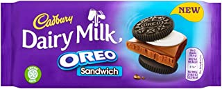 Cadbury Dairy Milk Oreo Sandwich chocolate Bar 92g (Pack of 4)